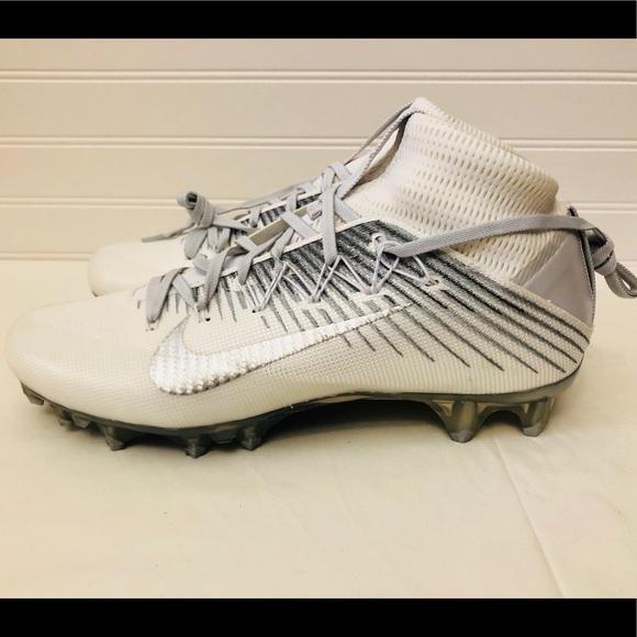 Nike Vapor Untouchable 2 Football Cleat White Gray